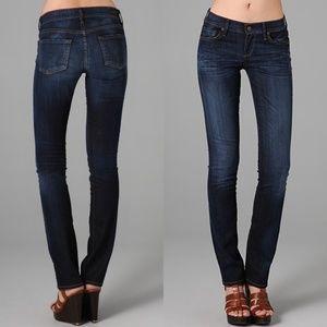 CITZENS OF HUMANITY Dark Wash Ava Straight Jeans